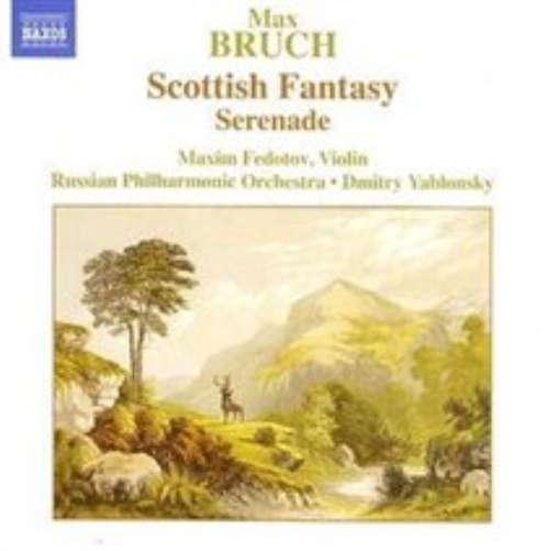 Scottish-Fantasy-Op-46-Serenade-Yablonsky-Russian-Po-CD-NUEVO