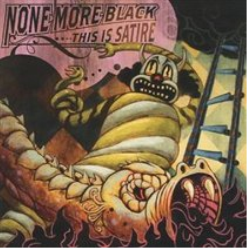 None-More-Black-This-Is-Satire-CD-NEUF