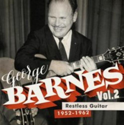 George-Barnes-Restless-Guitar-CD-NUOVO-Importazione-USA