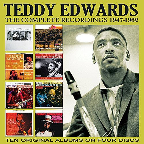 EDWARDS-TEDDY-COMPLETE-RECORDINGS-1947-1962-US-IMPORT-CD-NEW