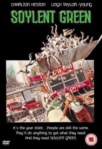 Charlton Heston-SOYLENT GREEN (UK IMPORT) DVD NEW