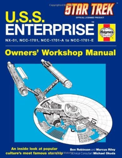 Robinson-Ben-Riley-Marcus-Star-Trek-U-S-S-Enterprise-HBOOK-NUOVO