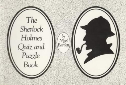 Bartlett-Nigel-Sherlock-Holmes-Quiz-And-Puzzle-Book-BOOK-NUEVO