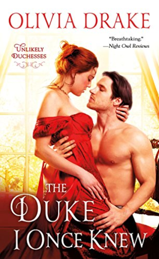 Drake-Olivia-The-Duke-I-Once-Knew-BOOK-NUEVO