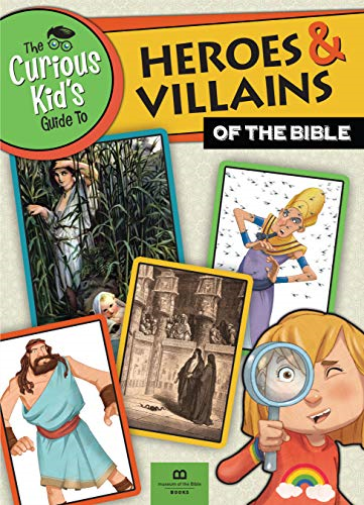 Museum-Of-The-Bible-Books-The-Curious-Kid-S-Guide-To-Heroes-amp-Vi-BOOK-NUOVO