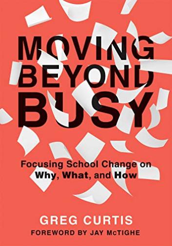 Curtis-Greg-Moving-Beyond-Busy-Importacion-USA-BOOK-NUEVO