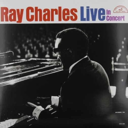 Ray-Charles-Live-In-Concert-VINYL-LP-NEUF