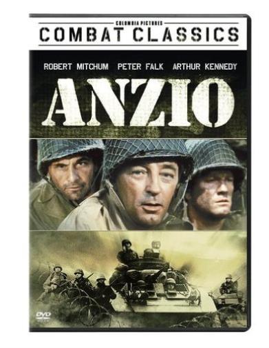 MITCHUM-ROBERT-Anzio-DVD-NUEVO-Importacion-USA