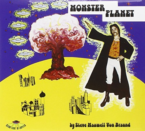 BRAUND-STEVE-MAXWELL-VON-MONSTER-PLANET-AUS-CD-NUEVO-Importacion-USA
