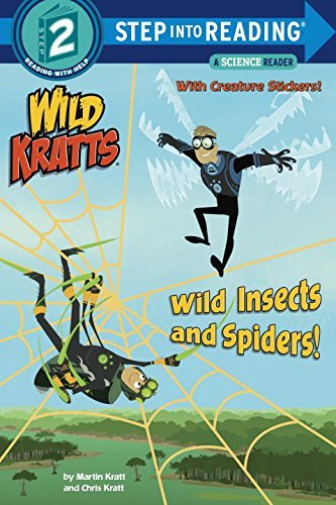 CHRIS-KRATT-WILD-INSECTS-amp-SPIDERS-BOOK-NUOVO