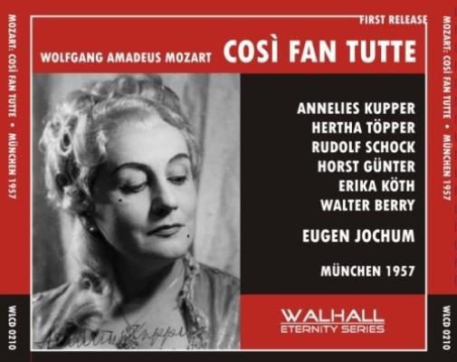Cosi Fan Tutte (Jochum, Kupper, Topper, Schock, Gunter) CD NUOVO