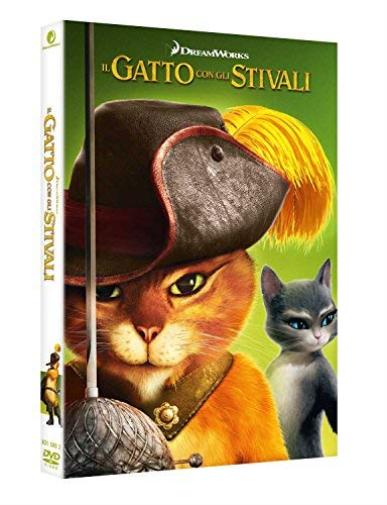Cartoni Animati Gatto Con Gli Stivali Il Ita Uk Import Dvd