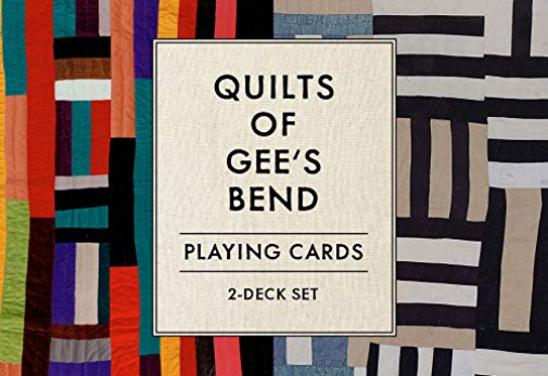 Quilts Of Gee S Bend Playing Cards 2-Deck Set ACC NEW - $17.46